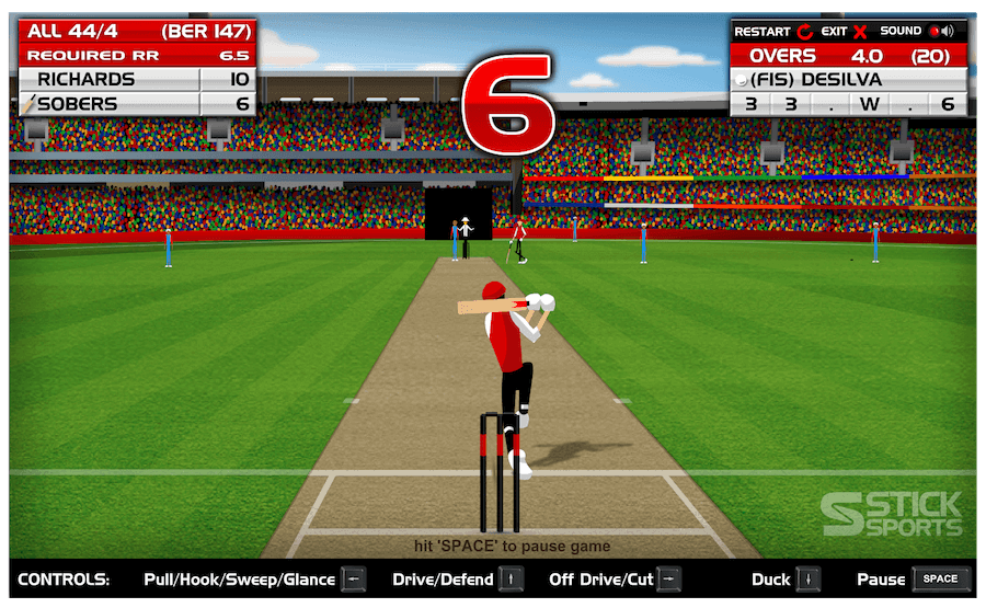 Cricket Master Game - Play online at